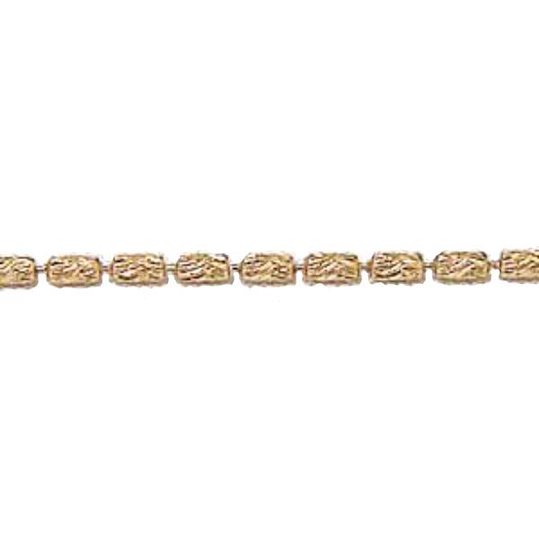 チェーン K18ピンクゴールド シリンダーカット1.2mmチェーン 45cm スライド式