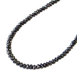 メンズ ネックレス 贈り物 ブラックダイヤモンド 20.40ct~ ホワイトゴールド 男女兼用 送料無料 カジュアル バレンタイン