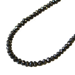 メンズ ネックレス 贈り物 ブラックダイヤモンド 30.00ct ホワイトゴールド 男女兼用 送料無料 カジュアル 父の日 バレンタイン