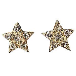 ダイヤモンドピアス スターピアス 星ピアス ダイヤピアス K18 ゴールド 18金 スタッドピアス 0.04ct ダイア 星 スター プレゼント 送料無料 4月誕生石 誕生日プレゼント クリスマスプレゼント ホワイトデー 記念日のプレゼント カジュアル