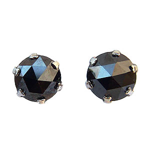 メンズピアス ブラックダイヤモンド 0.50ct PT900 プラチナ 送料無料 父の日 バレンタイン 普段使い
