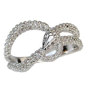 スネーク リング ダイヤモンド 0.01ct へび 蛇 ヘビ 指輪 プラチナ PT900 送料無料 カジュアル