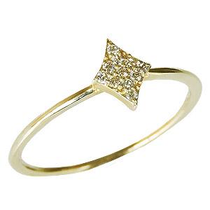 ダイヤモンドリング ピンキーリング ダイヤリング ダイヤモンド指輪 ダイヤモンド 0.05ct K18 ゴールド 18金 送料無料 レディース ジュエリー 4月誕生石 誕生日プレゼント クリスマスプレゼント ホワイトデー 記念日