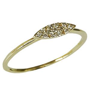 ダイヤモンドリング ピンキーリング ダイヤリング ダイヤモンド指輪 ダイヤモンド 0.06ct K18 ゴールド 18金 送料無料 レディース ジュエリー 4月誕生石 誕生日プレゼント クリスマスプレゼント ホワイトデー 記念日