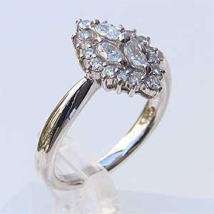 ダイヤモンド PT900 プラチナ リング 指輪 送料無料