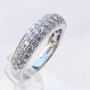 メンズ ピンキーリング ダイヤモンドリング プラチナ 指輪