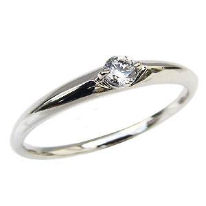 エンゲージリング ダイヤモンドリング プラチナ PT900 ダイヤモンド0.10ct 婚約指輪 一粒ダイヤモンド 送料無料