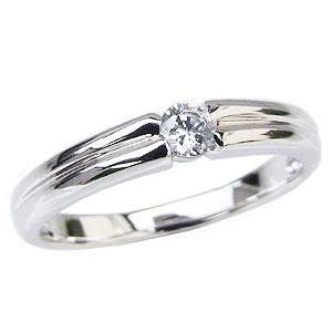 エンゲージリング ダイヤモンドリング ダイヤモンド0.15ct 婚約指輪 一粒ダイヤモンド 送料無料