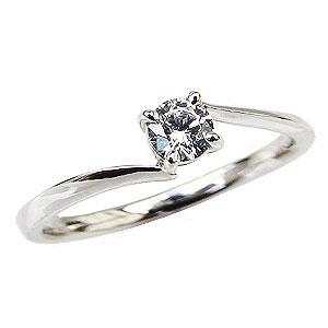 エンゲージリング ダイヤモンドリング ダイヤモンド 婚約指輪 一粒ダイヤモンド 0.20ct 送料無料