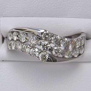 指輪ダイヤモンド リング PT900 プラチナ指輪 リング プレゼント ジュエリー