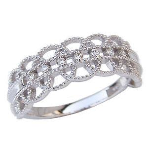ダイヤモンドリング ダイヤモンド 0.05ct 指輪 プラチナ PT900 4月誕生石 送料無料 カジュアル