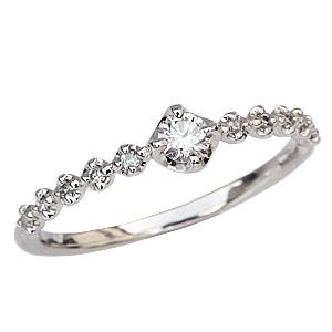 ダイヤモンドリング 指輪 ダイヤモンド 0.17ct プラチナ Pt900 プレゼント 記念日 送料無料