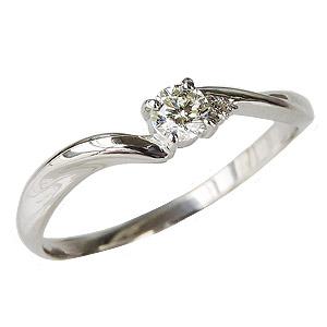 ダイヤモンドリング ダイヤリング エンゲージリング ダイヤモンド0.15ct ダイヤモンド指輪 ダイヤ ホワイトゴールド K18WG 送料無料 誕生日プレゼント クリスマスプレゼント ホワイトデー 記念日