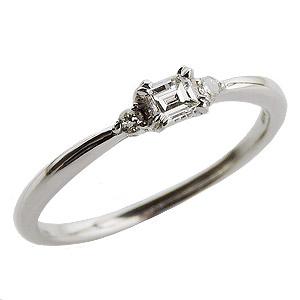 母の日 2019 ダイヤモンド リング ダイヤモンドリング ダイヤリング バケットダイヤ ダイヤモンド ダイヤ 指輪 ホワイトゴールド K18WG 送料無料