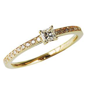 母の日 2019 ダイヤモンドリング ダイヤリング ダイヤモンド ダイヤモンド指輪 ダイヤ K18 イエローゴールド 送料無料 誕生日プレゼント クリスマスプレゼント ホワイトデー 記念日