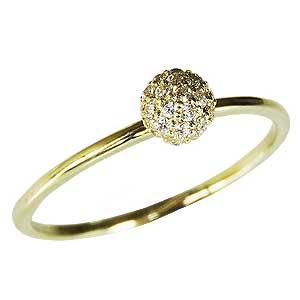 母の日 2019 ダイヤモンド ダイヤモンドリング ダイヤモンド 0.18ct イエローゴールド K18 ダイヤリング ダイヤモンド指輪 パヴェ 送料無料 レディース ジュエリー 4月誕生石 誕生日プレゼント クリスマスプレゼント ホワイトデー 記念日