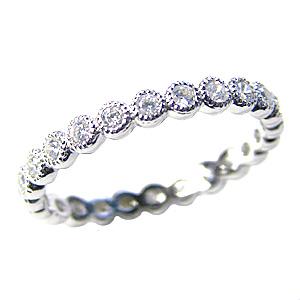 ダイヤモンド リング フルエタニティーリング 結婚指輪 プラチナ PT900 エタニティー 送料無料