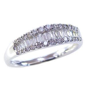 ダイヤモンドリング 婚約指輪 プラチナ エンゲージリング 指輪 ダイヤモンド 0.50ct 送料無料