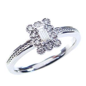 ダイヤモンドリング 婚約指輪 プラチナ エンゲージリング ピンキーリング 指輪 ダイヤモンド