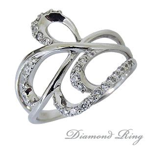 指輪 レディース プラチナ ダイヤ リング ダイヤモンド 可愛い ギフト プレゼント 0.30ct カジュアル