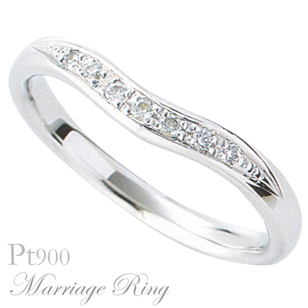 母の日 2019 マリッジリング 結婚指輪 高品質 ダイヤモンド Pt900 プラチナ レディース 3al