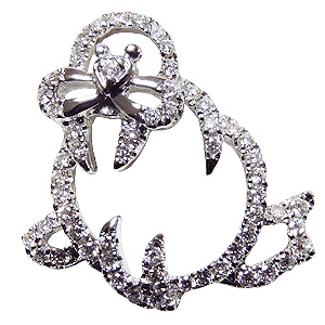 ブローチ セイウチ オットセイ ピンズ アシカ ラペルピン ダイヤモンド K18WGホワイトゴールド ジュエリー 送料無料