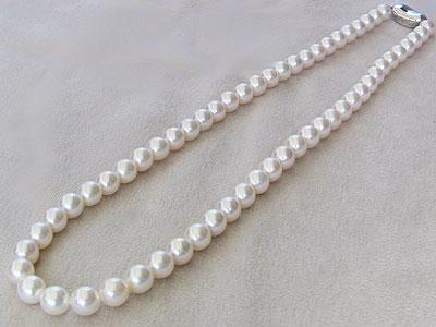 真珠パールネックレスパールチョーカーあこや本真珠 6.5mm-7mmネックレス 送料無料 冠婚葬祭