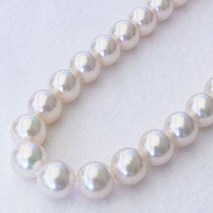成人式 ネックレス 贈り物 あこや本真珠ネックレス 贈り物 パールネックレス 贈り物 9.0mm-9.5mm 全長44cm 送料無料 レディース 冠婚葬祭 フォーマル カジュアル