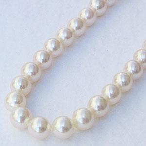 母の日 2019 あこや本真珠ネックレス パールネックレス 6.0mm-6.5mm アコヤ本真珠 SV シルバー