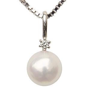 ペンダントトップ プラチナ ネックレスペンダント あこや真珠パール PT900プラチナネックレス ダイヤモンド