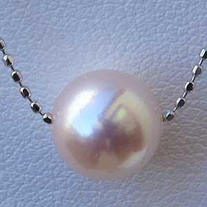 母の日 2019 真珠パール ネックレス パール あこや真珠パール ネックレス K18ホワイトゴールド 6月誕生石
