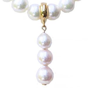 真珠 パールペンダントトップ あこや本真珠 8mm 7mm 6.5mm アコヤ本真珠 パール 開閉式 K18 ゴールド 18金 送料無料
