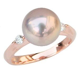 母の日 2019 真珠 指輪 淡水パール リング 湖水真珠 SVシルバー ピンクゴールドメッキ