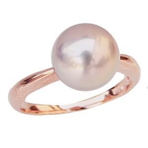 母の日 2019 パール リング 湖水真珠 真珠 指輪 SVシルバー 淡水パール ピンクゴールドメッキ