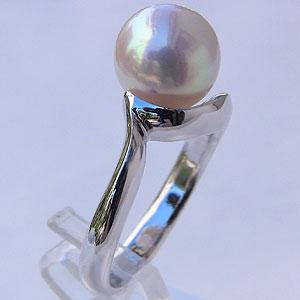 最安値で  入学 入園 あこや本真珠 シンプル リング シンプル パール ピンクホワイト系 入園 9mm K18WG 9mm ホワイトゴールド 指輪(アコヤ本真珠), 雑貨屋さん ふるーつどろっぷ:02677da1 --- pokemongo-mtm.xyz