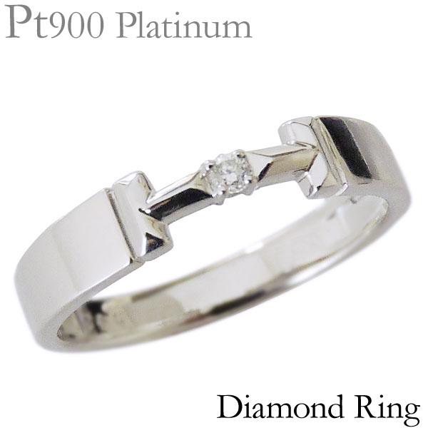 リング ダイヤモンド 0.02ct PT900プラチナ レディース ダイヤ プレゼント 贈答 ジュエリー 保証書付 送料無料
