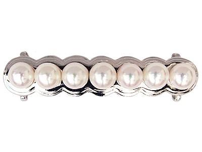 帯留め 和装 真珠帯留め パール 帯留 オビドメ あこや本真珠 アコヤ 7-7.5mm シルバー レディース 送料無料 ラッピング無料