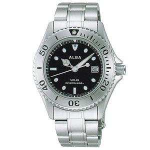 卒業 入学 SEIKO セイコー アルバ ALBA アルバソーラー 200m潜水防水 ソーラー 腕時計 正規品 1年保証書付 AEFD529 送料無料