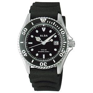 卒業 入学 SEIKO セイコー アルバ ALBA アルバソーラー 200m潜水防水 ソーラー 腕時計 正規品 1年保証書付 AEFD530 送料無料