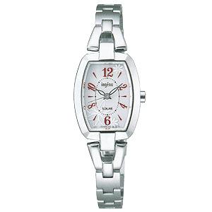 卒業 入学 SEIKO セイコー アルバ ALBA アンジェーヌ 女性用 ソーラー 腕時計 正規品 1年保証書付 AHJD059 送料無料