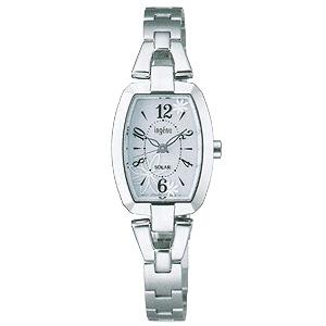 卒業 入学 SEIKO セイコー アルバ ALBA アンジェーヌ 女性用 ソーラー 腕時計 正規品 1年保証書付 AHJD061 送料無料