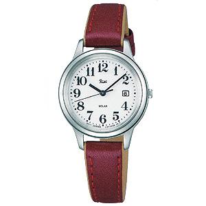 卒業 入学 SEIKO セイコー ALBA アルバ リキ 女性用 ソーラー 腕時計 正規品 1年保証書付 AKQD025