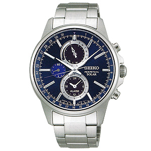 卒業 入学 SEIKO セイコー セレクション SELECTION メンズシリーズ 男性用 ソーラー クロノグラフ 腕時計 正規品 1年保証書付 SBPJ003