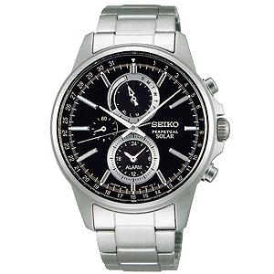 卒業 入学 SEIKO セイコー セレクション SELECTION メンズシリーズ 男性用 ソーラー クロノグラフ 腕時計 正規品 1年保証書付 SBPJ005