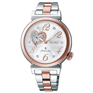 卒業 入学 SEIKO セイコー ルキア LUKIA 女性用 メカニカル 腕時計 正規品 1年保証書付 SSVM022