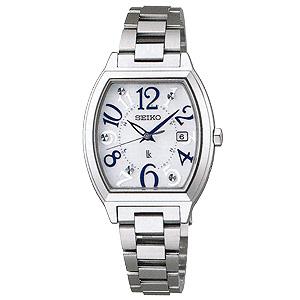 卒業 入学 SEIKO セイコー ルキア LUKIA レディ・トノーシリーズ 女性用 ソーラー電波時計 腕時計 正規品 1年保証書付 SSVW091