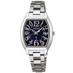 卒業 入学 SEIKO セイコー ルキア LUKIA レディ・トノーシリーズ 女性用 ソーラー電波時計 腕時計 正規品 1年保証書付 SSVW093