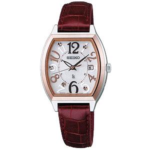 卒業 入学 SEIKO セイコー ルキア LUKIA レディ・トノーシリーズ 女性用 ソーラー電波時計 腕時計 正規品 1年保証書付 SSVW094