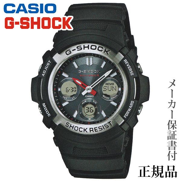 卒業 入学 CASIO カシオ G-SHOCK AWG-M100 Series 男性用 ソーラー アナデジ 腕時計 正規品 1年保証書付 AWG-M100-1AJF