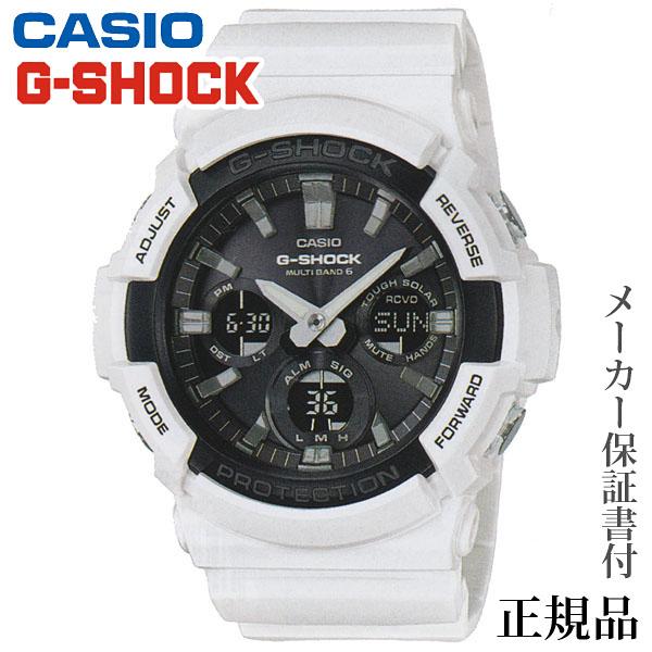 卒業 入学 CASIO カシオ G-SHOCK GAW-100 Series 男性用 ソーラー アナデジ 腕時計 正規品 1年保証書付 GAW-100B-7AJF